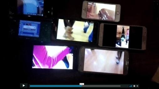 captura de vídeo puzzle